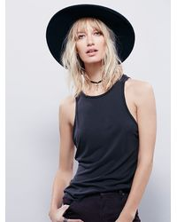 Free People | Black Super Scoop Cami | Lyst