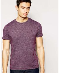 Hilfiger Denim | T-shirt With Crew Neck In Purple for Men | Lyst