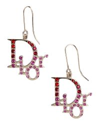 Dior | Metallic Earrings | Lyst