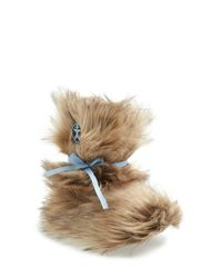 Bedroom Athletics | Brown 'lauper' Faux Fur Slipper Boot | Lyst
