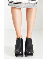 Kelsi Dagger Brooklyn | Black Thea Wedge Ankle Boot | Lyst