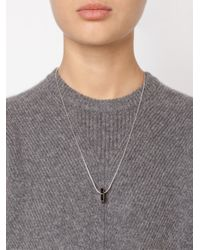 Vivienne Westwood | Metallic 'adel' Nut Screw Pendant Necklace | Lyst