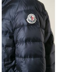 Moncler | Black 'lans' Padded Jacket | Lyst