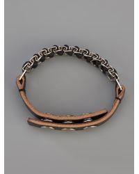 Saint Laurent - Black Chain Bracelet - Lyst