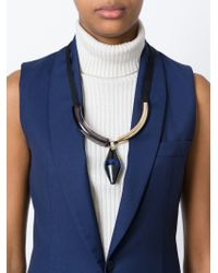 Marni - Blue 'runway' Necklace - Lyst