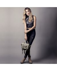 Linea Pelle | Gray Rowan Crossbody Bag | Lyst