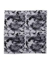 Lucien Pellat Finet - Gray Square Scarf - Lyst