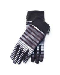 Ralph Lauren | Black Lined Touch Screen Gloves | Lyst