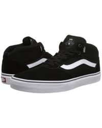 Vans | Black Gilbert Crockett Pro Mid for Men | Lyst
