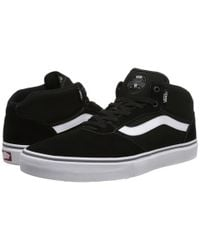 Vans - Black Gilbert Crockett Pro Mid for Men - Lyst