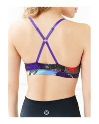 Without Walls - Orange Painted '90s Hot Yoga Bra - Lyst