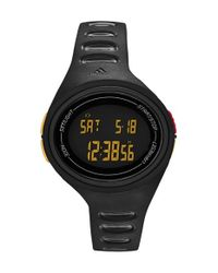 Adidas - Black 'adizero' Digital Watch - Lyst