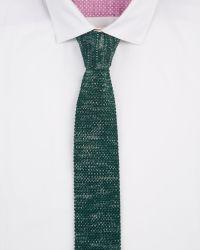 Ted Baker - Green Fleknit Knitted Tie for Men - Lyst