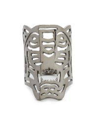 KENZO - Oversized Tiger Ring - Black/silver - Lyst