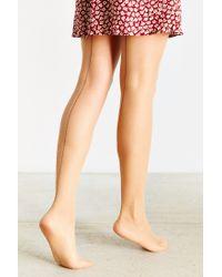 Urban Outfitters - Natural Classic Back Seam Tight - Lyst