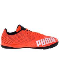 PUMA | Orange Evospeed Sala 3.4 for Men | Lyst
