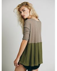 Free People - Green We The Free Half And Half Thermal - Lyst