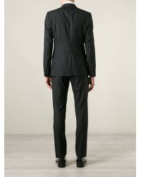 Dolce & Gabbana - Black Classic Three-piece Suit for Men - Lyst