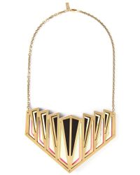Sarah Angold Studio - Metallic 'Lilu' Necklace - Lyst