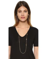 Tory Burch - Metallic Gemini Link Convertible Necklace - Lyst