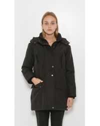 IRO - Black Bliza Hooded Puffer - Lyst