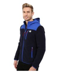 Penfield | Blue Carson Hooded Pile Fleece Jacket for Men | Lyst