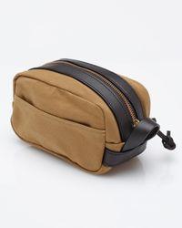 Filson | Brown Travel Kit in Tan for Men | Lyst
