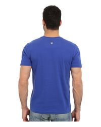 Life Is Good. - Blue Lucky Dog Crusher Tee for Men - Lyst