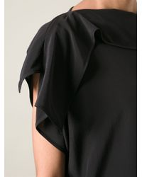 Acne Studios - Black 'Leni' Top - Lyst
