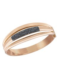 Swarovski | Pink Cypress Crystal Bangle Bracelet | Lyst