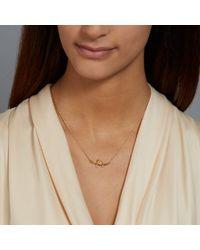 Alex Monroe | Yellow Love Bird Necklace | Lyst