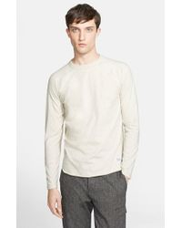 Norse Projects - Natural 'Aska' Perforated Raglan Sleeve T-Shirt for Men - Lyst