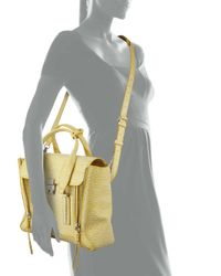 3.1 Phillip Lim - Yellow Pashli Medium Satchel Bag - Lyst