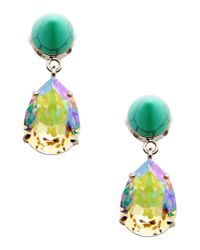 Givenchy - Green Earrings - Lyst