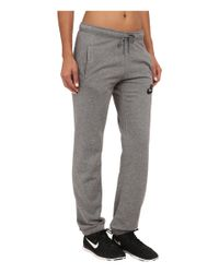 Nike | Black Rally Regular Pant | Lyst