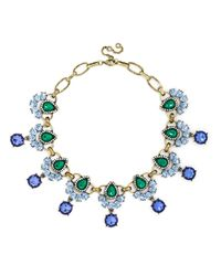 BaubleBar | Blue Rumba Gem Collar | Lyst
