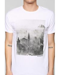 Altru - White New York Tee for Men - Lyst