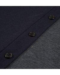 Sunspel - Blue Men's Vintage Wool Bomber Jacket for Men - Lyst