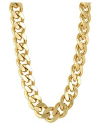 CC SKYE - Metallic The Streamliner Collar Necklace - Lyst