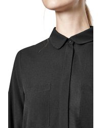 French Connection | Black Polly Plains Shirt | Lyst