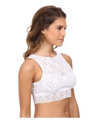 Hanky Panky | White Signature Lace Crop Tank Top | Lyst