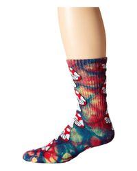 Huf - Multicolor Tie Dye Magic Crew Sock - Lyst