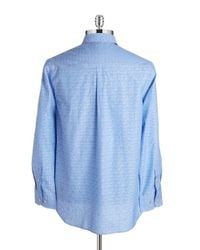 Tommy Bahama | Blue Shadow Floral Sportshirt for Men | Lyst
