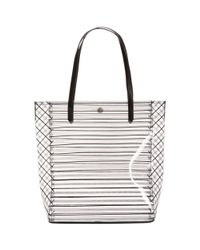 BCBGeneration - White Wilson Jelly Tote - Lyst