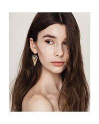 Jenny Bird - Metallic Flagstaff Earrings - Lyst