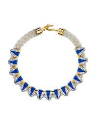 Noir Jewelry | Blue Cayo Sur Rope Bracelet | Lyst