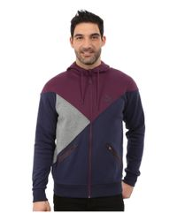 PUMA | Purple Cut Line Track Jacket for Men | Lyst