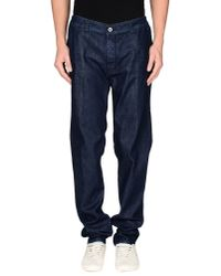 Re-hash - Blue Denim Trousers for Men - Lyst