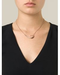 Shaun Leane | Metallic 'signature Tusk' Hook Necklace | Lyst