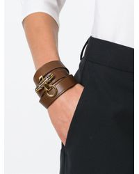 Givenchy | Brown 'obsedia' Bracelet | Lyst